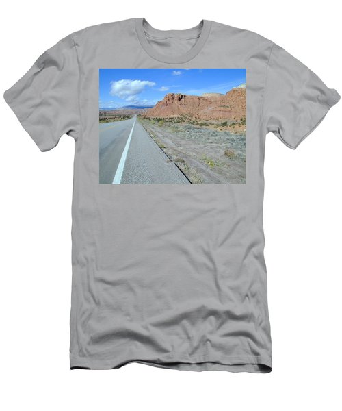 Men's T-Shirt (Athletic Fit) featuring the photograph Highyway To The Clouds Number 1 by Joseph R Luciano