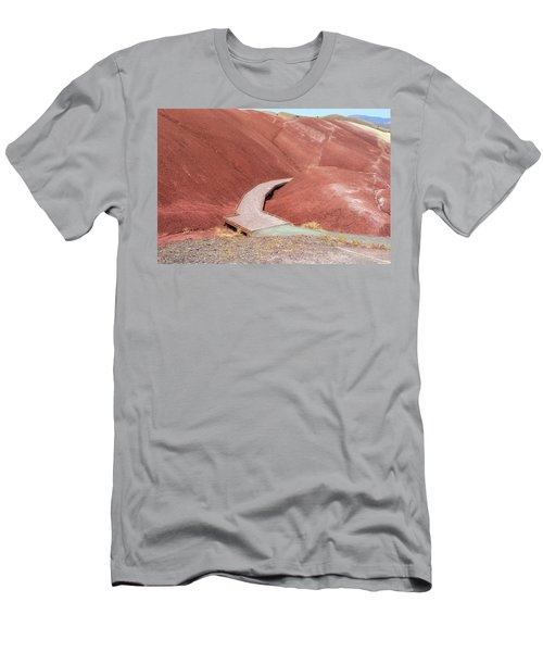 Hiking Loop Boardwalk At Painted Hills Cove Men's T-Shirt (Athletic Fit)