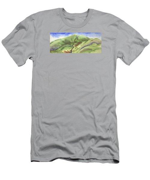 Hillside Panorama Men's T-Shirt (Athletic Fit)