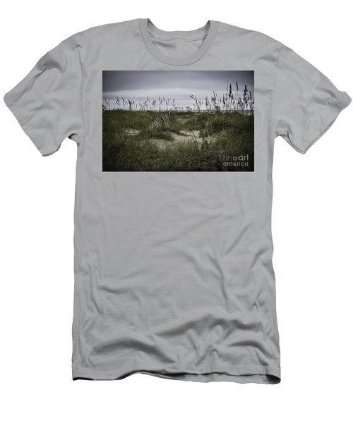 Hilton Head Men's T-Shirt (Slim Fit) by Judy Wolinsky