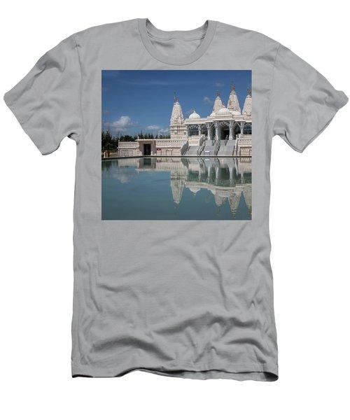 Hindu Temple Men's T-Shirt (Athletic Fit)