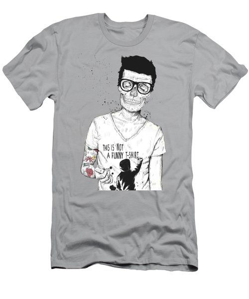 Hipsters Not Dead Men's T-Shirt (Athletic Fit)
