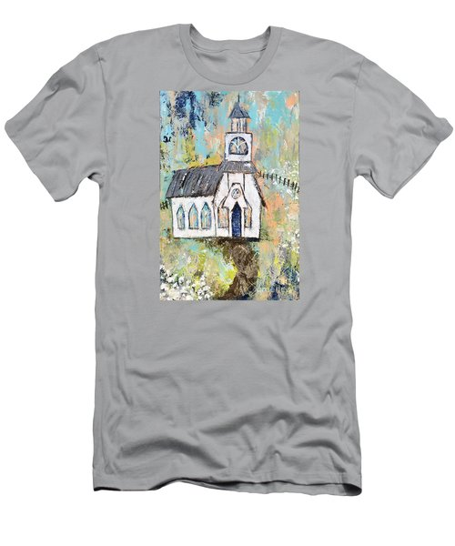 His Purpose Will Prevail Men's T-Shirt (Slim Fit) by Kirsten Reed