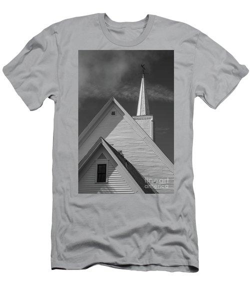 Historic Long River Church Avonlea Village Pei Men's T-Shirt (Athletic Fit)