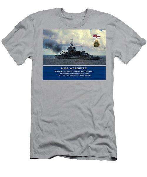 Hms Warspite Men's T-Shirt (Athletic Fit)