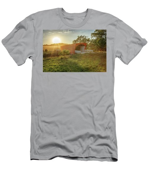 Hogback Covered Bridge 2 Men's T-Shirt (Athletic Fit)