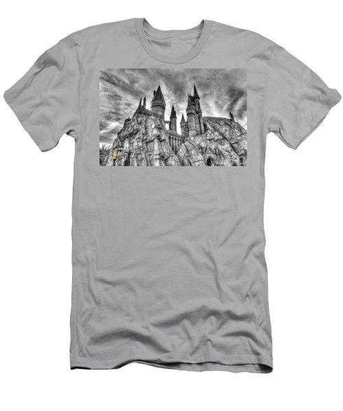 Hogwarts Castle 1 Men's T-Shirt (Slim Fit) by Jim Thompson