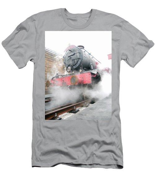 Men's T-Shirt (Slim Fit) featuring the photograph Hogwarts Express Train by Juergen Weiss