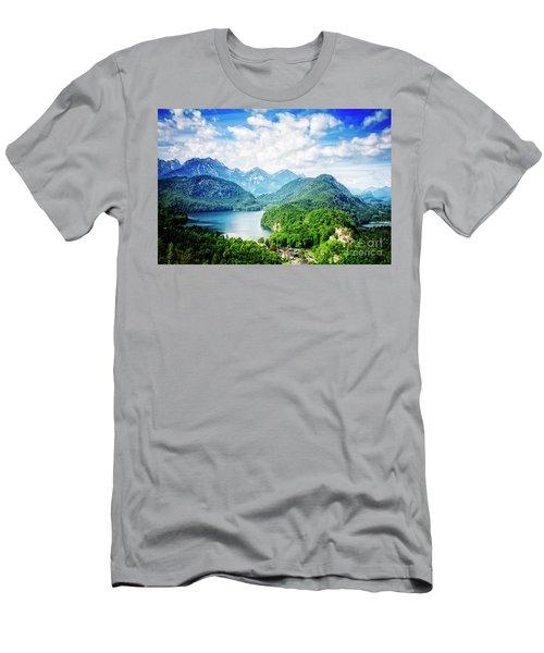 Hohenschwangau Men's T-Shirt (Athletic Fit)