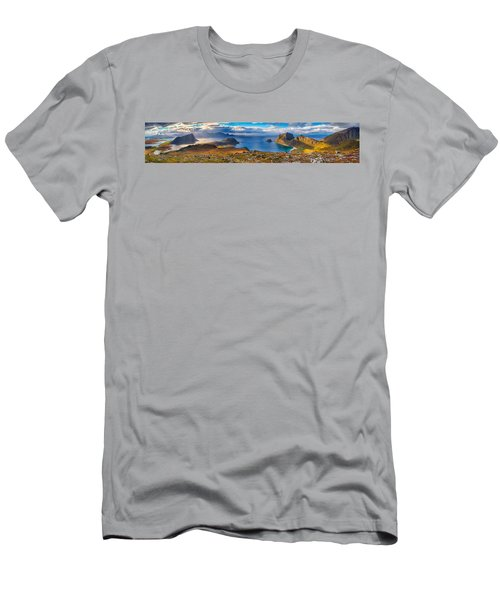 Holandsmelen Panorama Men's T-Shirt (Athletic Fit)