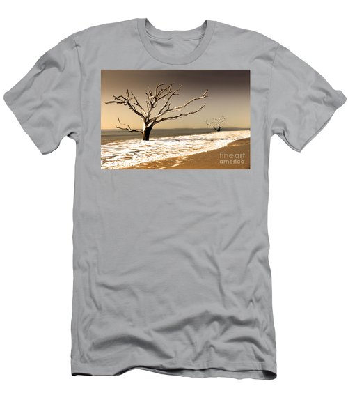 Men's T-Shirt (Slim Fit) featuring the photograph Hold The Line by Dana DiPasquale