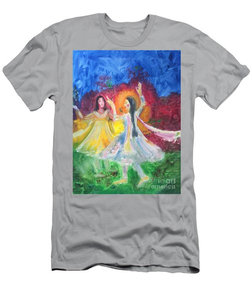 Holi-festival Of Colors Men's T-Shirt (Athletic Fit)