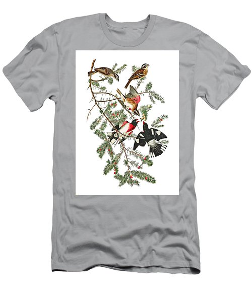 Men's T-Shirt (Slim Fit) featuring the photograph Holiday Birds by Munir Alawi