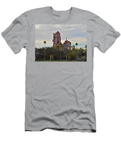 Hollywood Studios Tower Of Terror Men's T-Shirt (Slim Fit) by Carol  Bradley