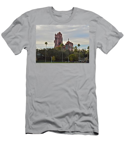 Hollywood Studios Tower Of Terror Men's T-Shirt (Athletic Fit)