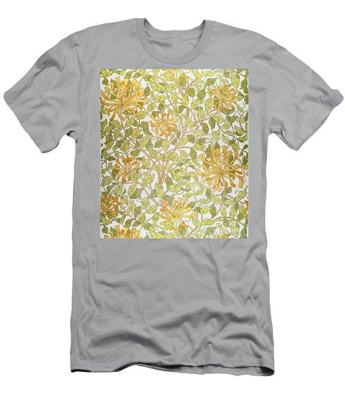 Honeysuckle Design Men's T-Shirt (Athletic Fit)