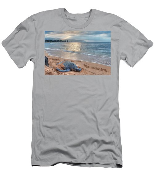 Honu Welcome Men's T-Shirt (Athletic Fit)