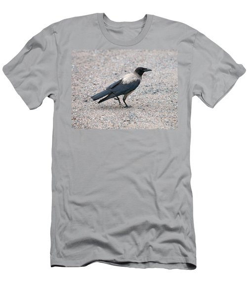 Men's T-Shirt (Slim Fit) featuring the photograph Hooded Crow by Jouko Lehto