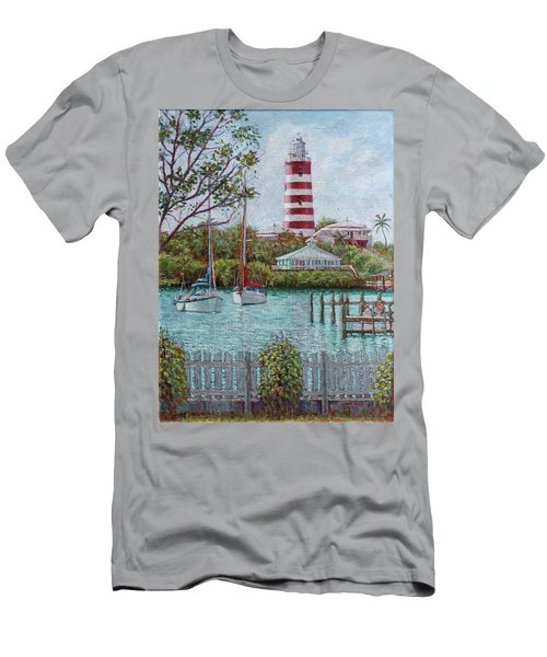 Hope Town Lighthouse Men's T-Shirt (Athletic Fit)