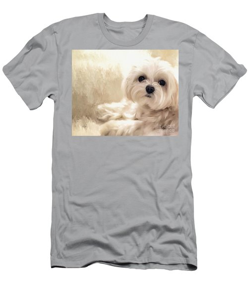 Hoping For A Cookie Men's T-Shirt (Slim Fit) by Lois Bryan