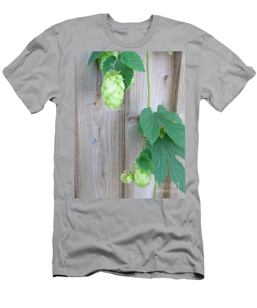 Hops On Fence Men's T-Shirt (Athletic Fit)