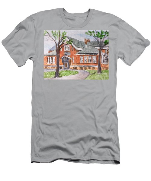 Horace Mann School Amesbury Ma Men's T-Shirt (Athletic Fit)