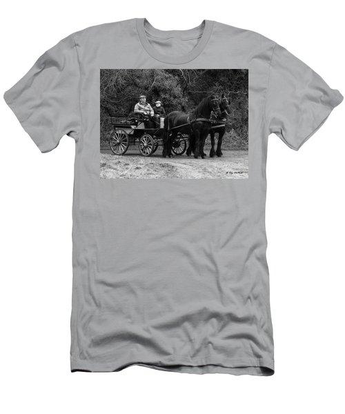 Horse Power Men's T-Shirt (Slim Fit) by Roy McPeak