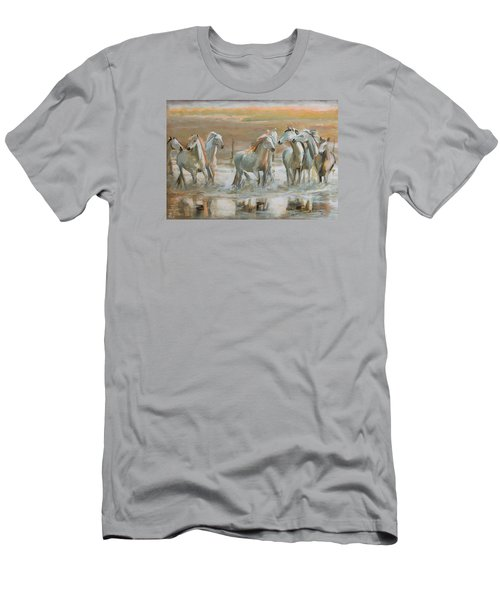 Horse Reflection Men's T-Shirt (Athletic Fit)