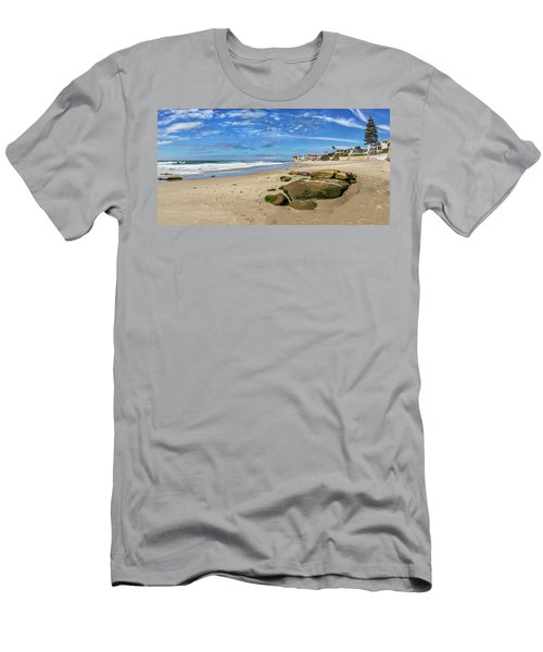 Men's T-Shirt (Slim Fit) featuring the photograph Horseshoes by Peter Tellone