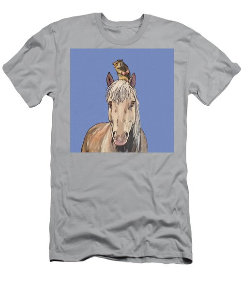 Hortense The Horse Men's T-Shirt (Athletic Fit)