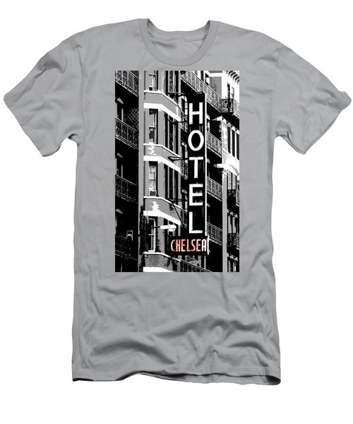Hotel Chelsea Men's T-Shirt (Slim Fit) by Christopher Woods