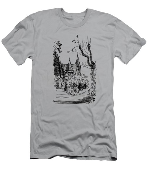 House In San Francisco Men's T-Shirt (Athletic Fit)