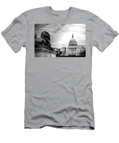 House Of Lions Men's T-Shirt (Athletic Fit)