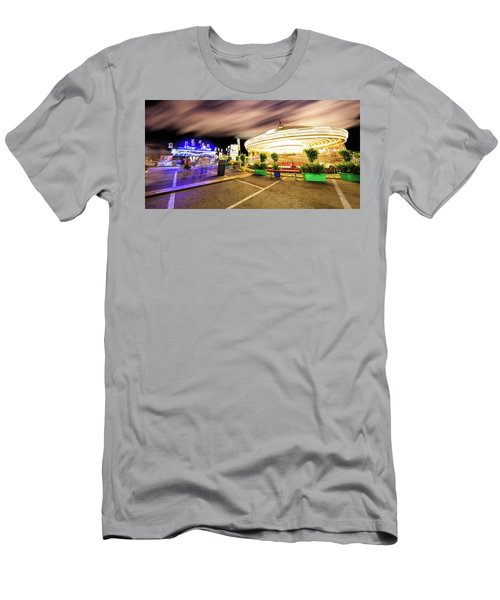 Houston Texas Live Stock Show And Rodeo #8 Men's T-Shirt (Slim Fit) by Micah Goff