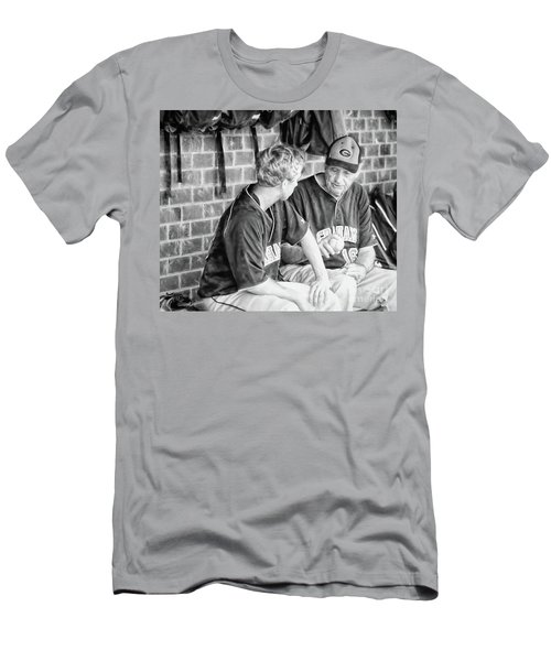 Men's T-Shirt (Slim Fit) featuring the photograph How To Throw A Curve Ball by Benanne Stiens