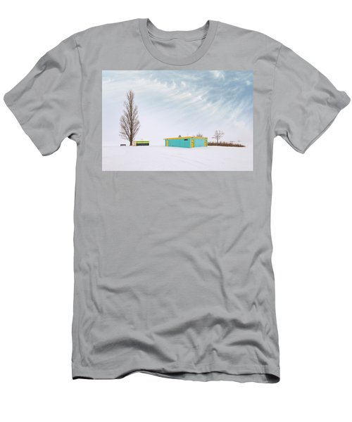 Men's T-Shirt (Athletic Fit) featuring the photograph How To Wear Bright Colors In The Winter by John Poon