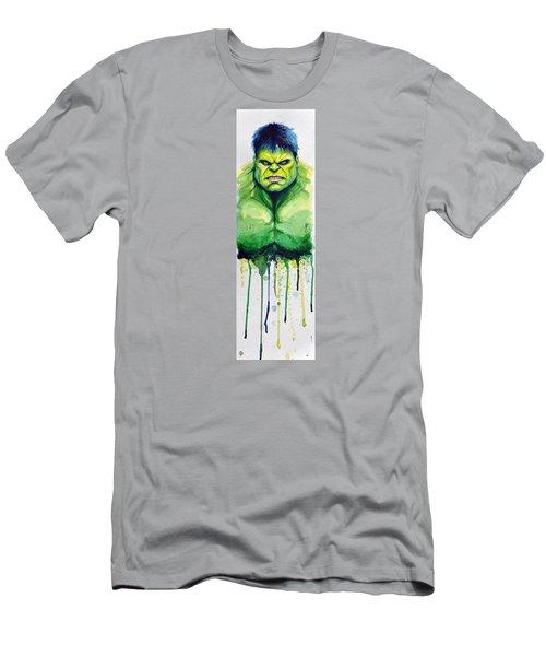 Hulk Men's T-Shirt (Slim Fit) by David Kraig