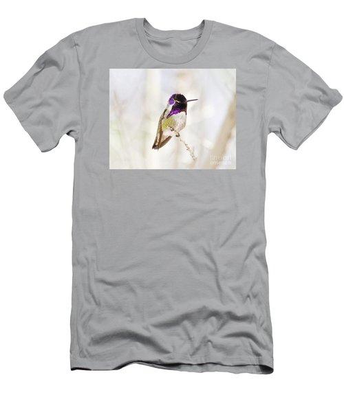Hummingbird Men's T-Shirt (Slim Fit) by Rebecca Margraf