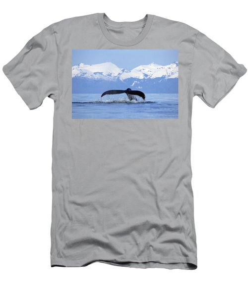 Men's T-Shirt (Athletic Fit) featuring the photograph Humpback Whale Megaptera Novaeangliae by Konrad Wothe