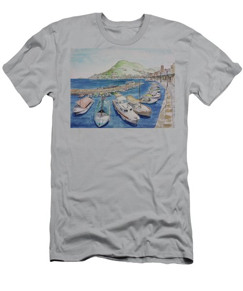 Hydra Harbor Men's T-Shirt (Athletic Fit)