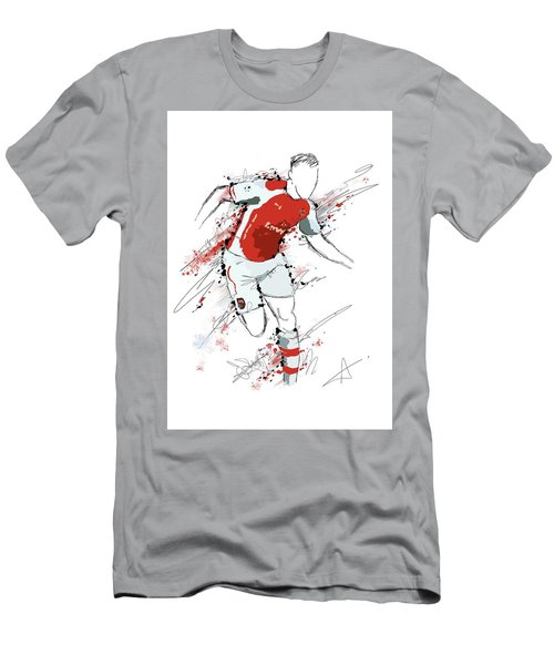 I Am Red And White Men's T-Shirt (Athletic Fit)