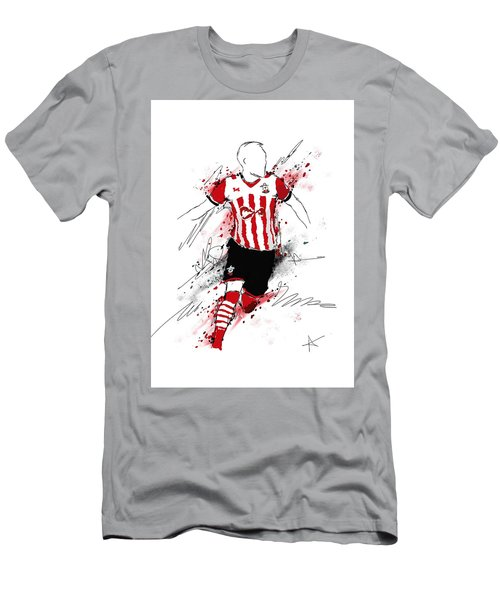 I Am Red And White Stripes Men's T-Shirt (Athletic Fit)