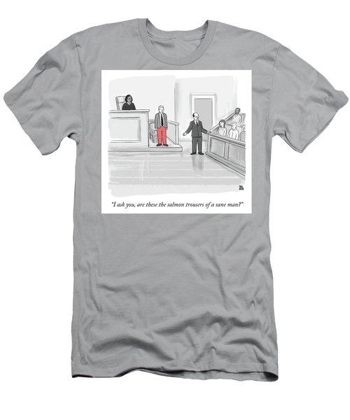 I Ask You Men's T-Shirt (Athletic Fit)