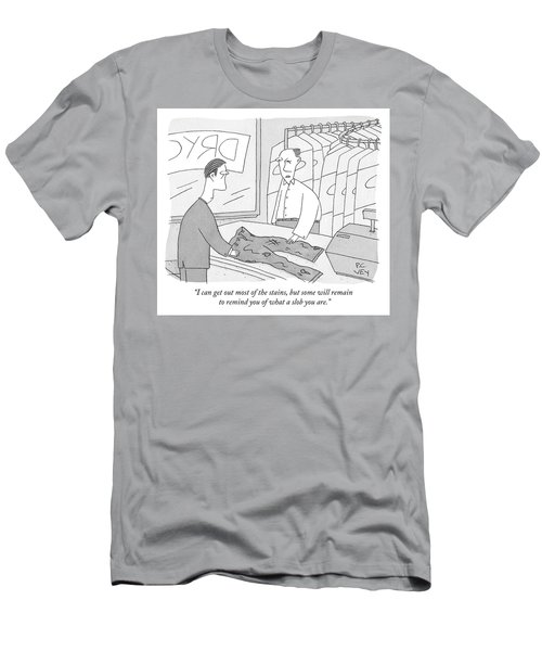 I Can Get Out Most Of The Stains Men's T-Shirt (Athletic Fit)