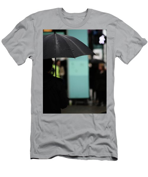 Men's T-Shirt (Slim Fit) featuring the photograph I Dont Want To Walk Away  by Empty Wall