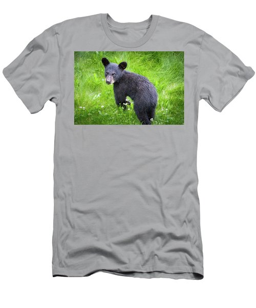 Men's T-Shirt (Athletic Fit) featuring the photograph I Heard That by Tim Newton