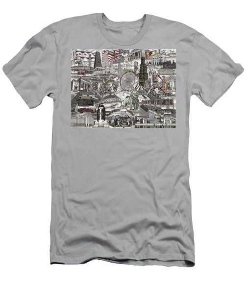 I Love Chicago Volume 2 Men's T-Shirt (Athletic Fit)