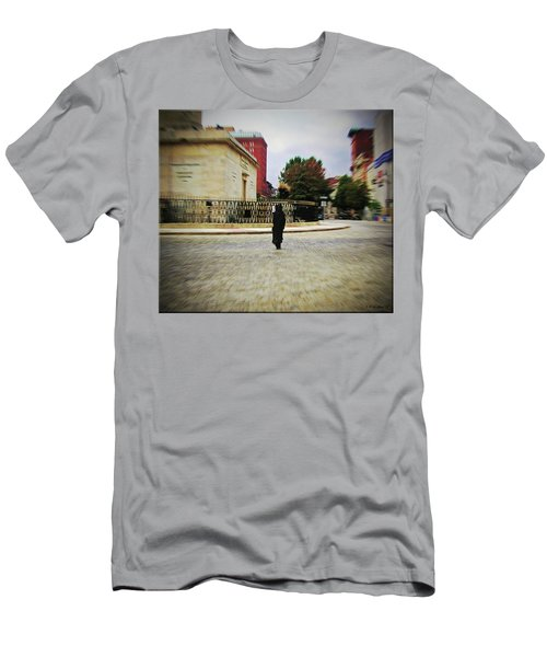 Men's T-Shirt (Slim Fit) featuring the photograph I Walk Alone by Brian Wallace