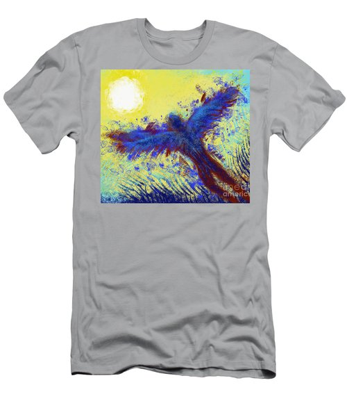 Men's T-Shirt (Athletic Fit) featuring the digital art Icarus by Antonio Romero