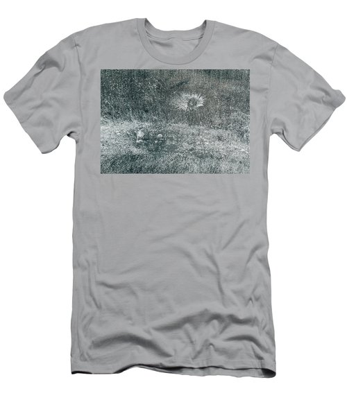 Ice Patterns - Madison - Wisconsin Men's T-Shirt (Athletic Fit)